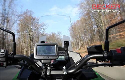 <small>Produktvideo Becker</small> Navigationsgerät