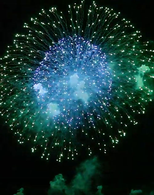<small>Präsentationsvideo Pyro Artists</small> Feuerwerk